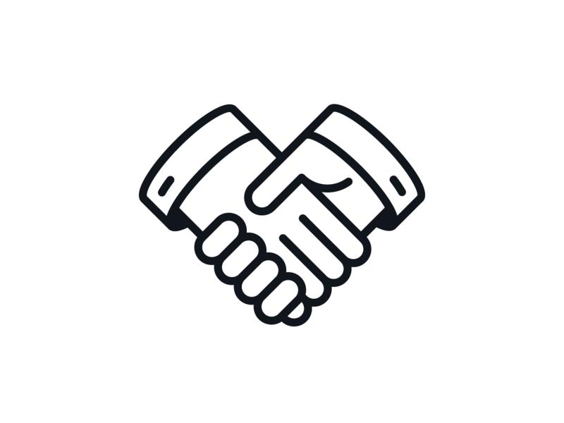 foreign business partnership handshake