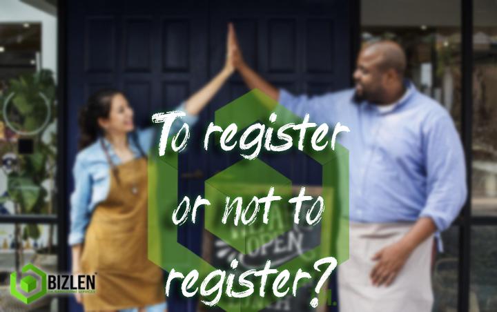 Registering a business with Bizlen