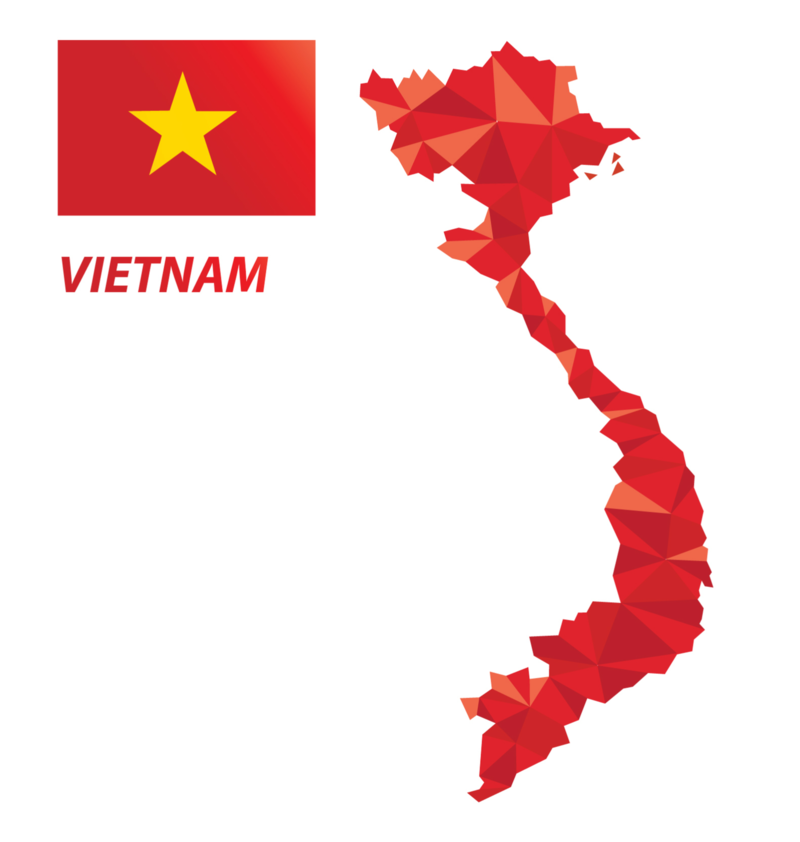 Vietnam Business map